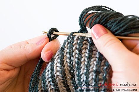 Как сделать кисть для шарфа