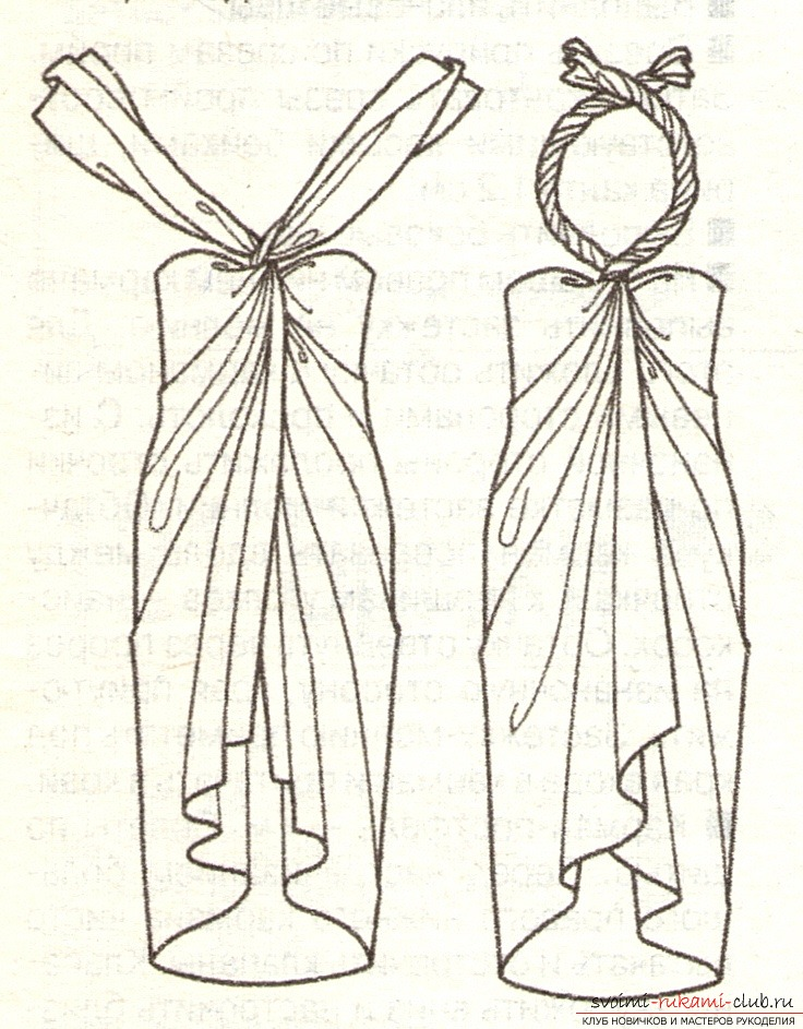 Oxakon: Выкройка платья для валяния