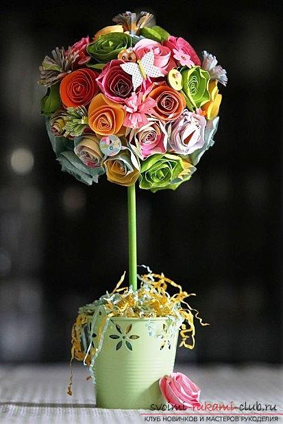 Топиарий для начинающих из цветов