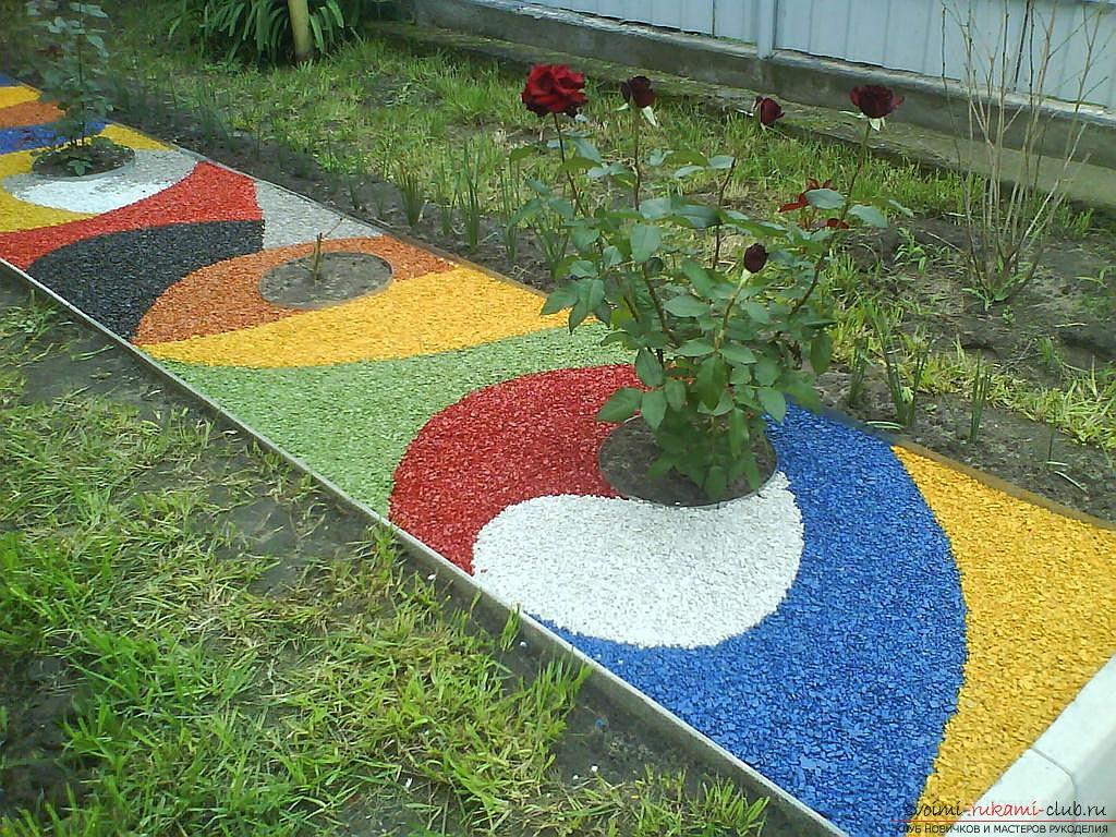 Ландшафтный дизайн клумбы и цветники своими руками фото
