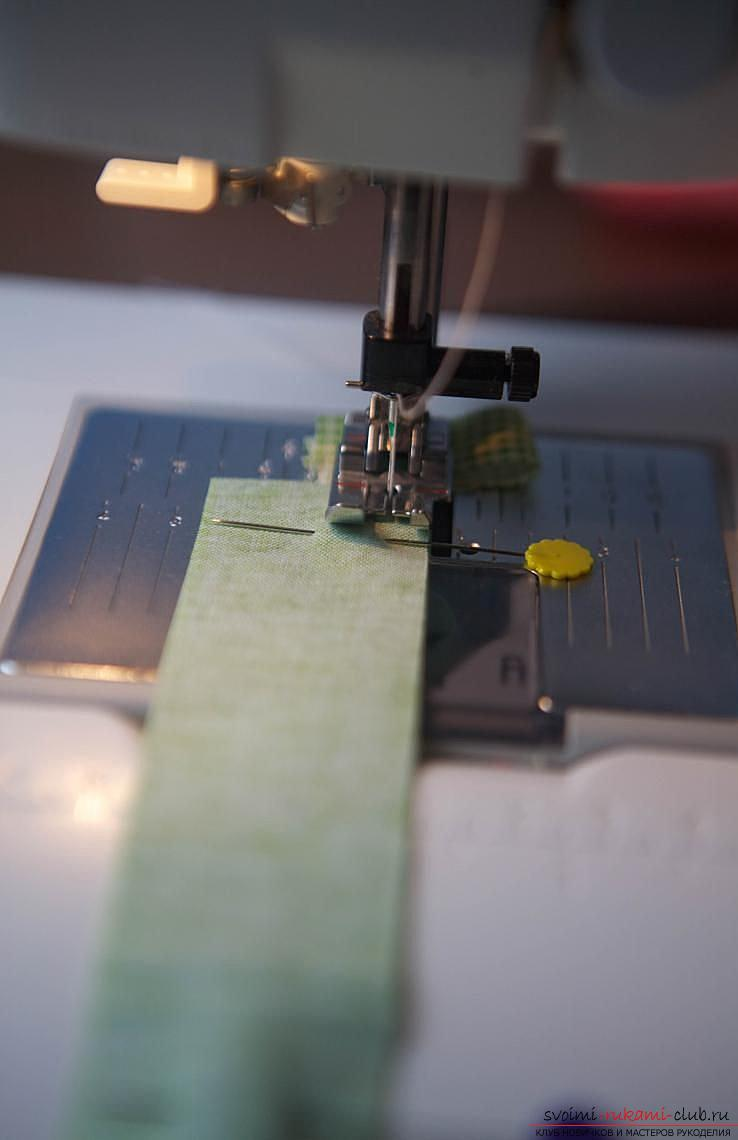 Изготовление японского мешочка омияге в стиле японского пэчворка. Фото №5