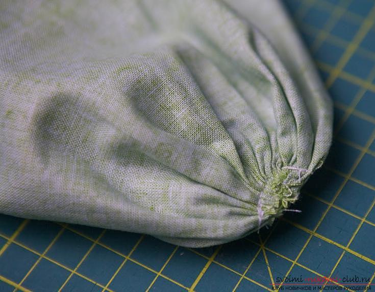 Изготовление японского мешочка омияге в стиле японского пэчворка. Фото №15