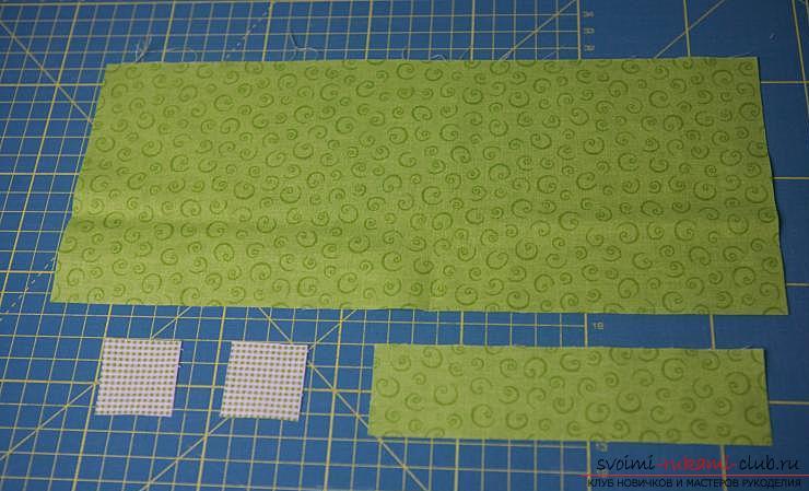 Изготовление японского мешочка омияге в стиле японского пэчворка. Фото №13