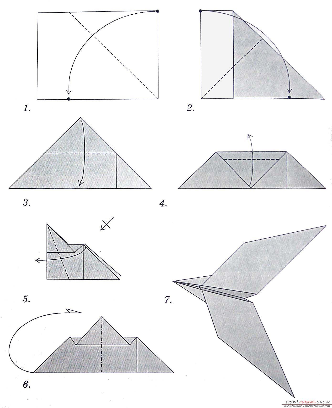 Самолеты оригами из бумаги своими руками видео