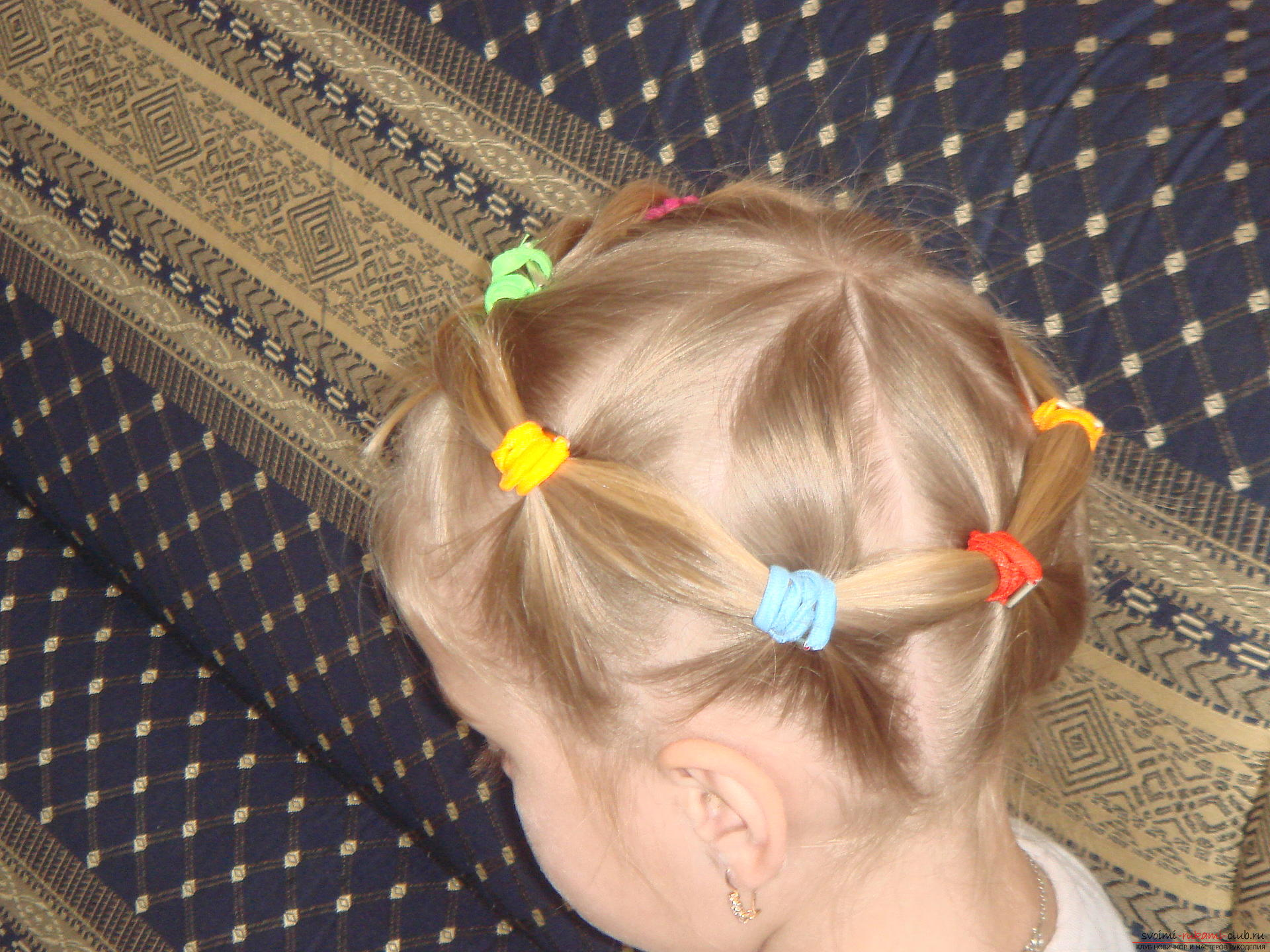 Прически для девочек двух лет