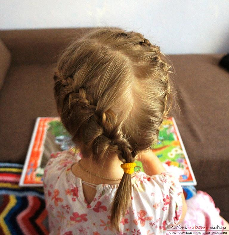 Прически двухлетней девочке