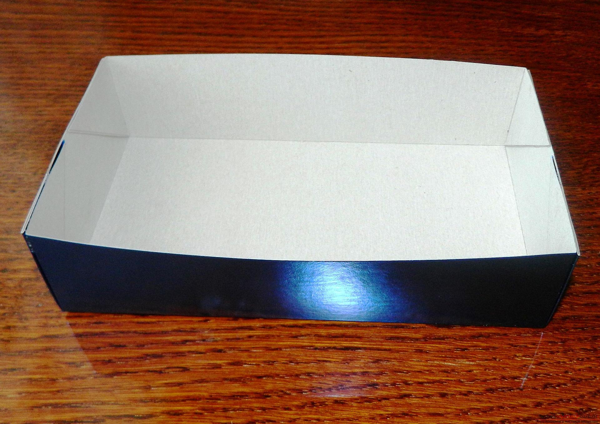 Как сделать своими руками подарочную коробку / KNITLY 31