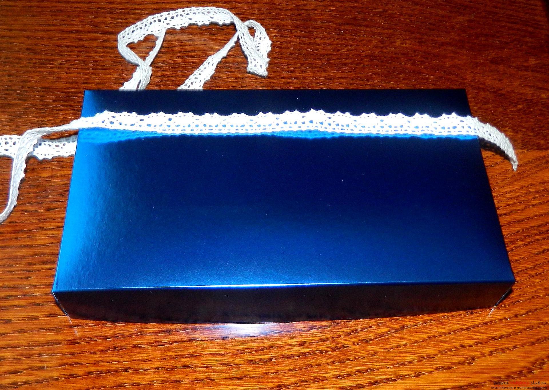 Этот мастер-класс расскажет как сделать подарочную коробку в технике квиллинг своими руками.. Фото №15