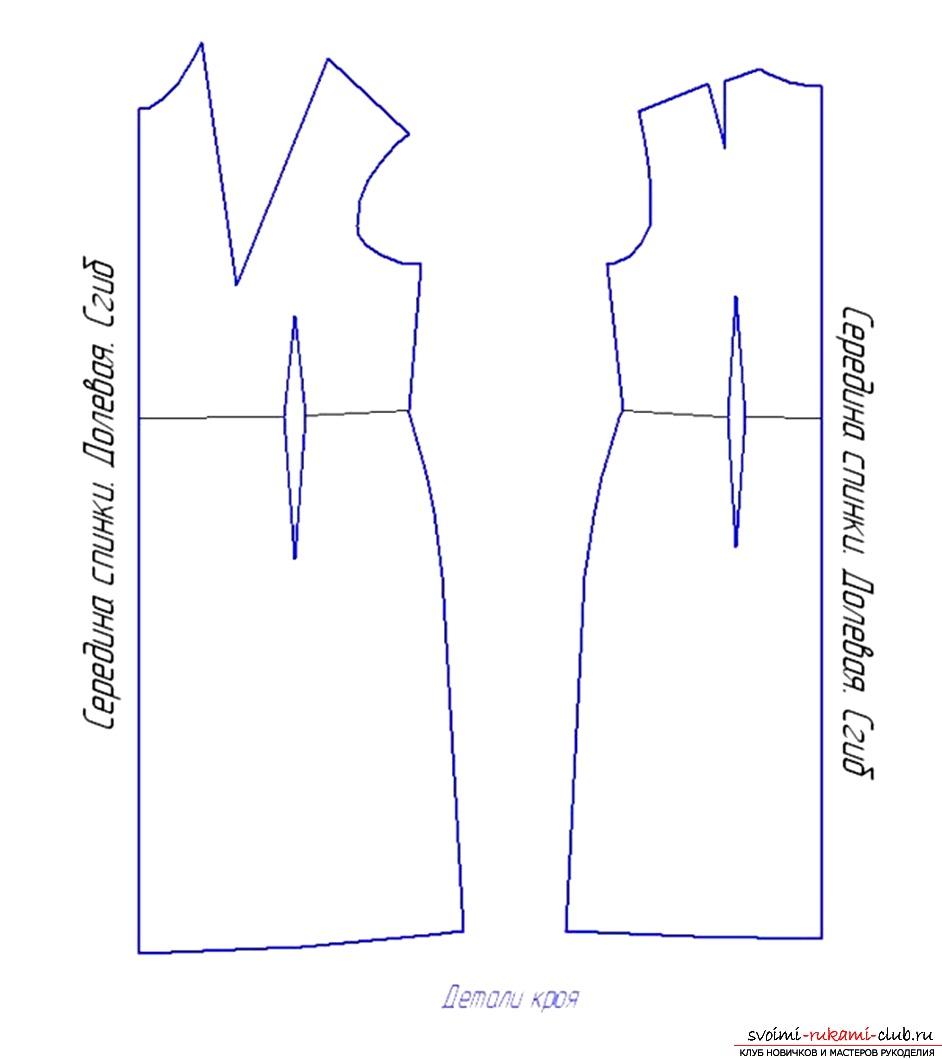 Как выкроить платье для начинающих выкройки с формулами
