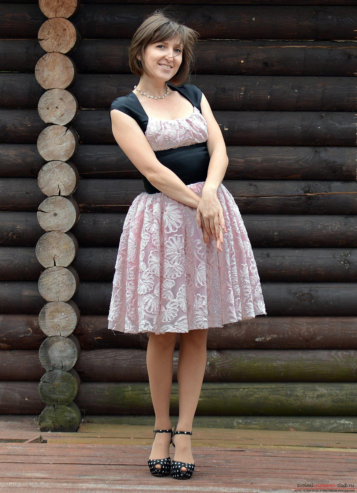 Шитье платья мастер класс фото #5