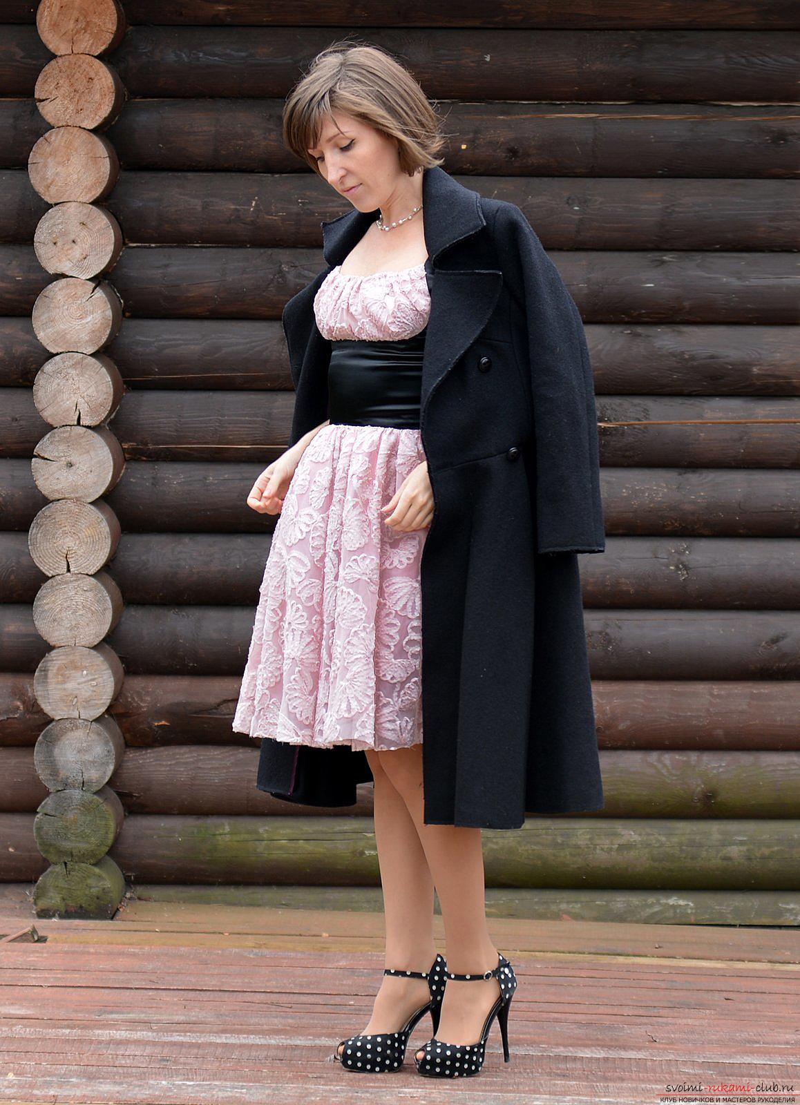 Шитье платья мастер класс фото #12