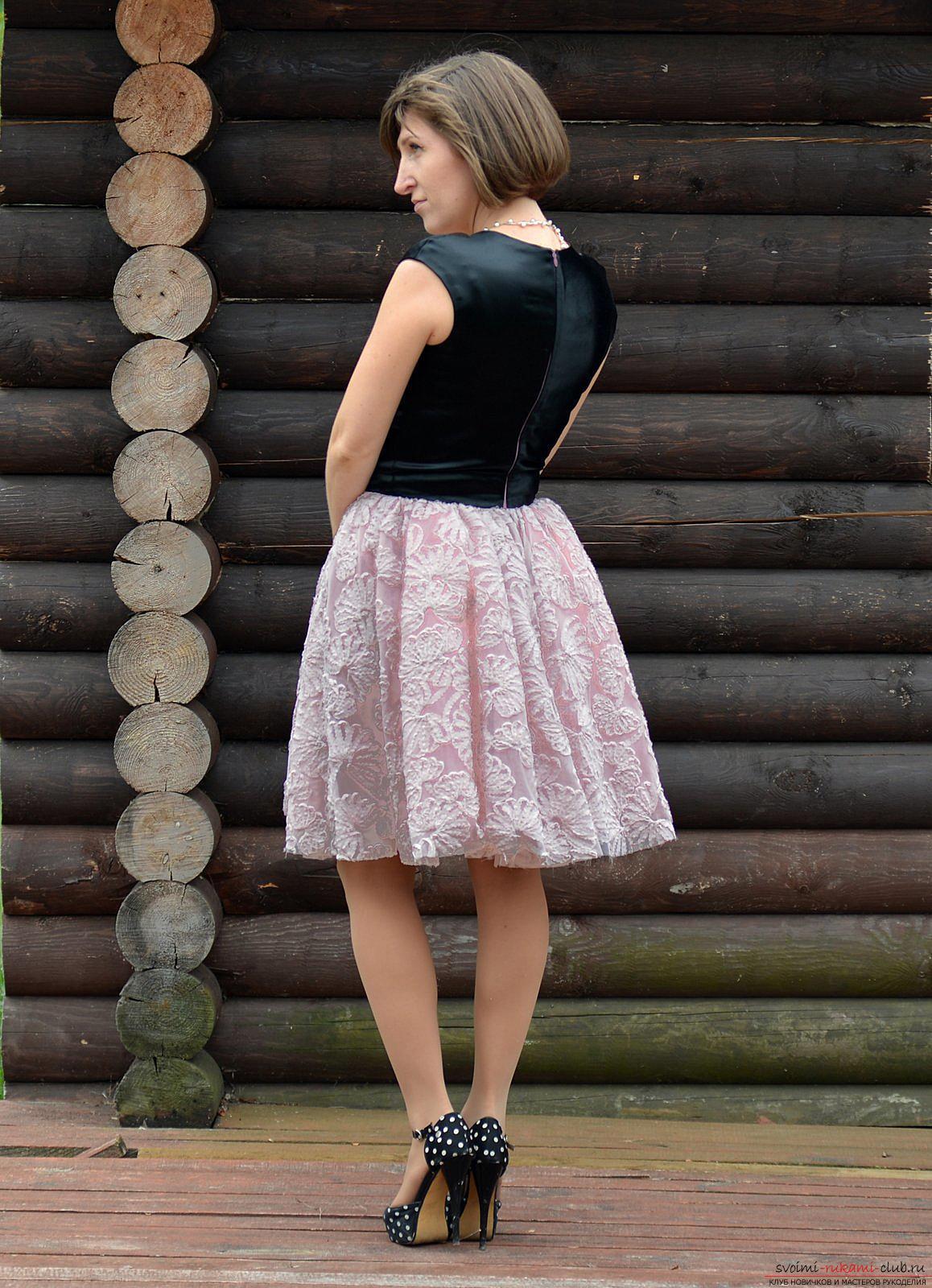 Шитье платья мастер класс фото #10