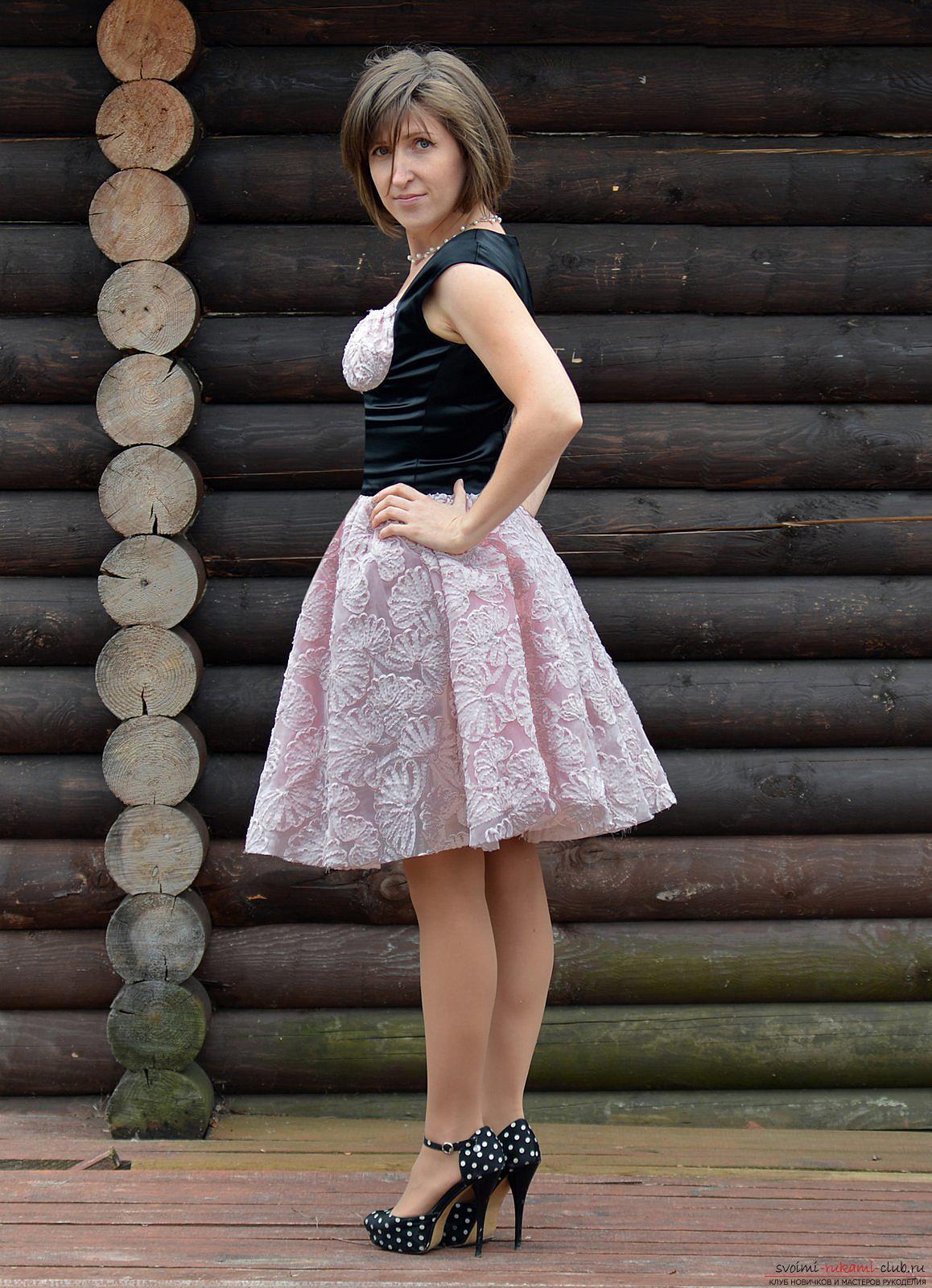 Фатин платье своими руками фото фото 407