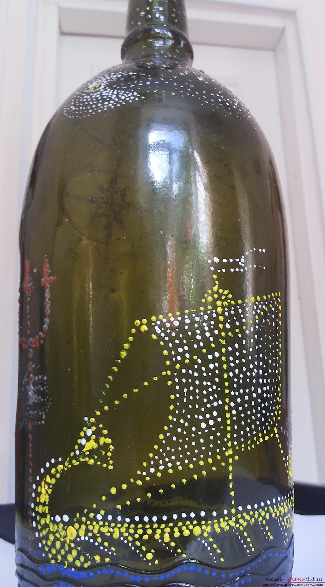 113 идей для поделок из стеклянных бутылок своими руками на фото