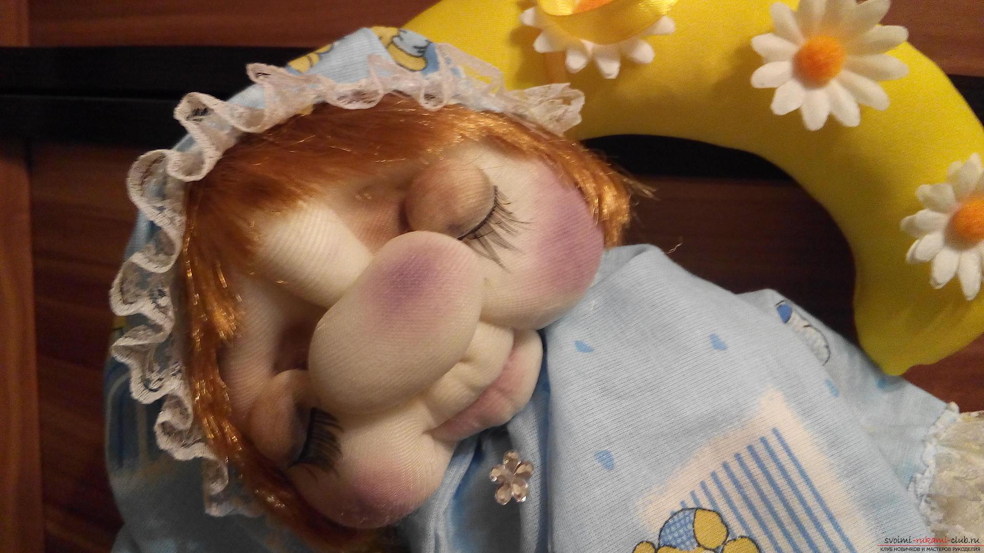 Куклы своими руками чулочная техника фото 613