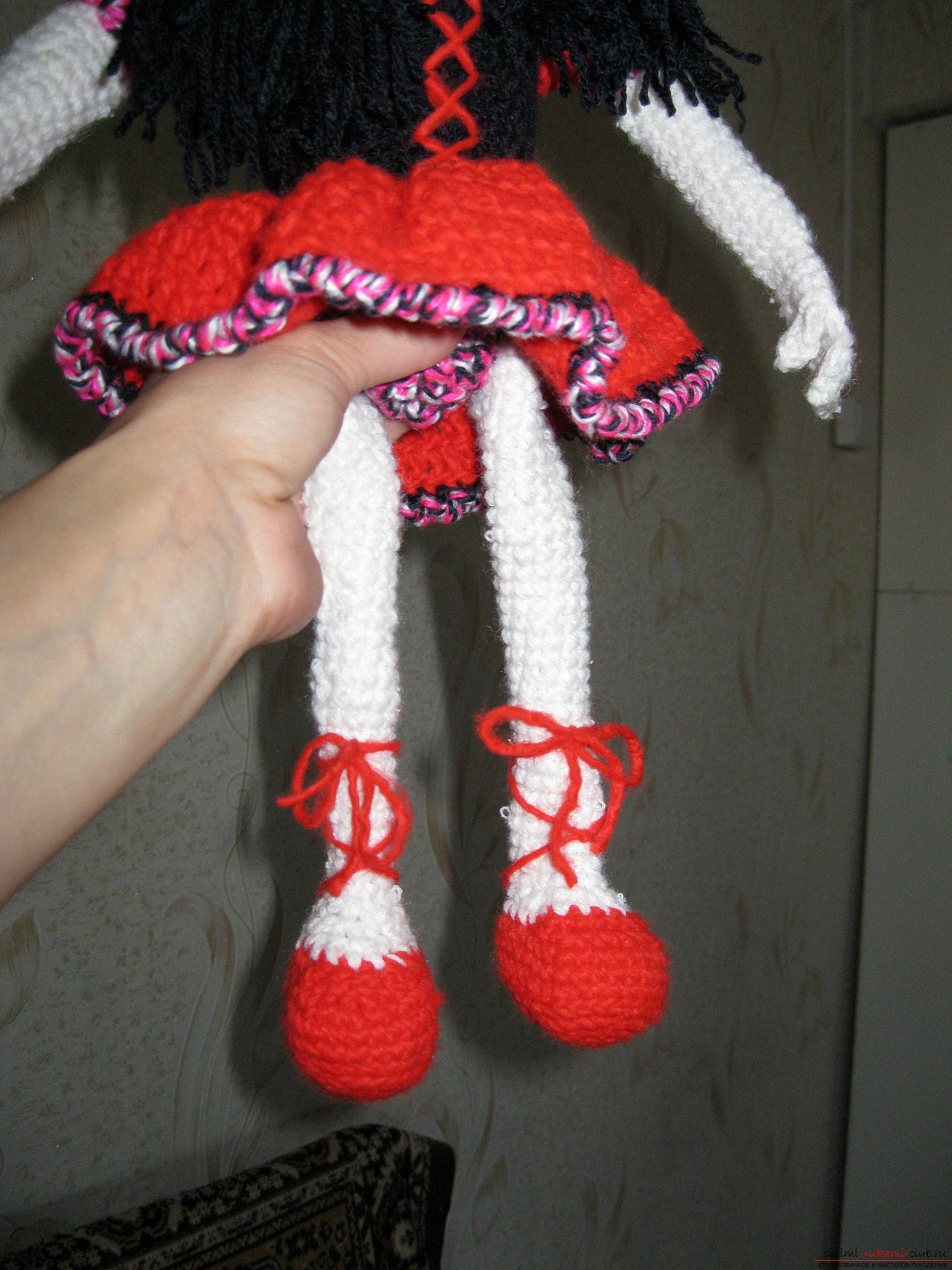 Вязаные украшения для ног. Митенки для ног: Вязание 74