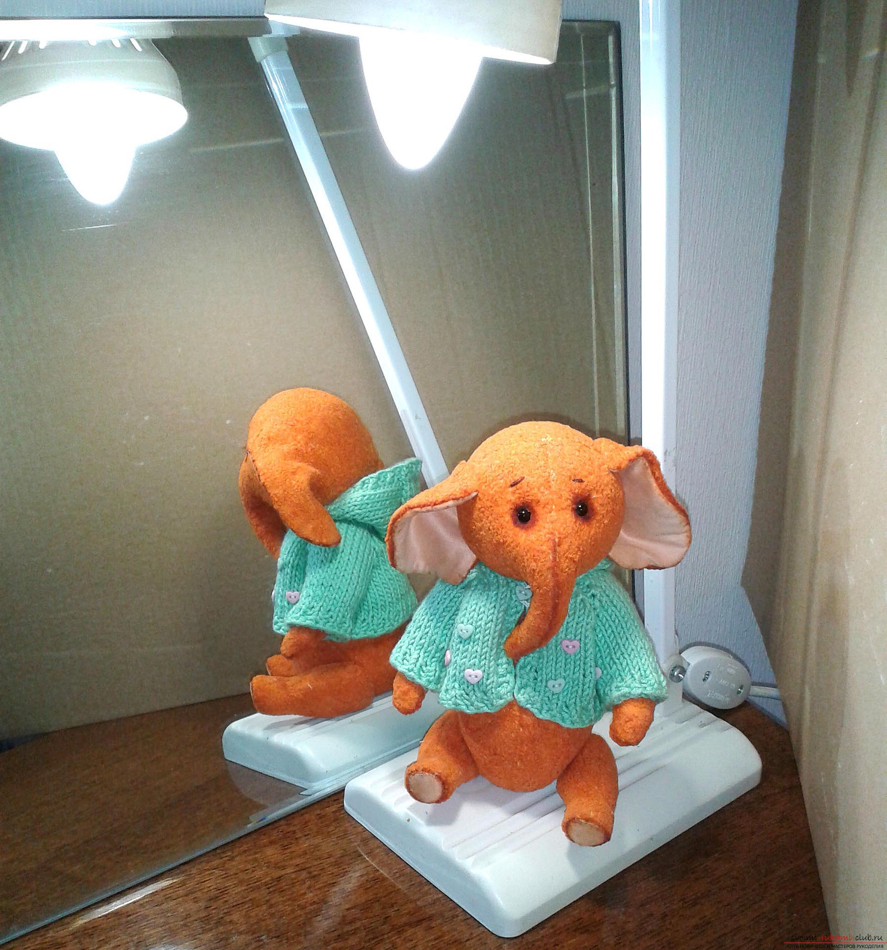 Игрушка Слоня-Соня. Фото №1