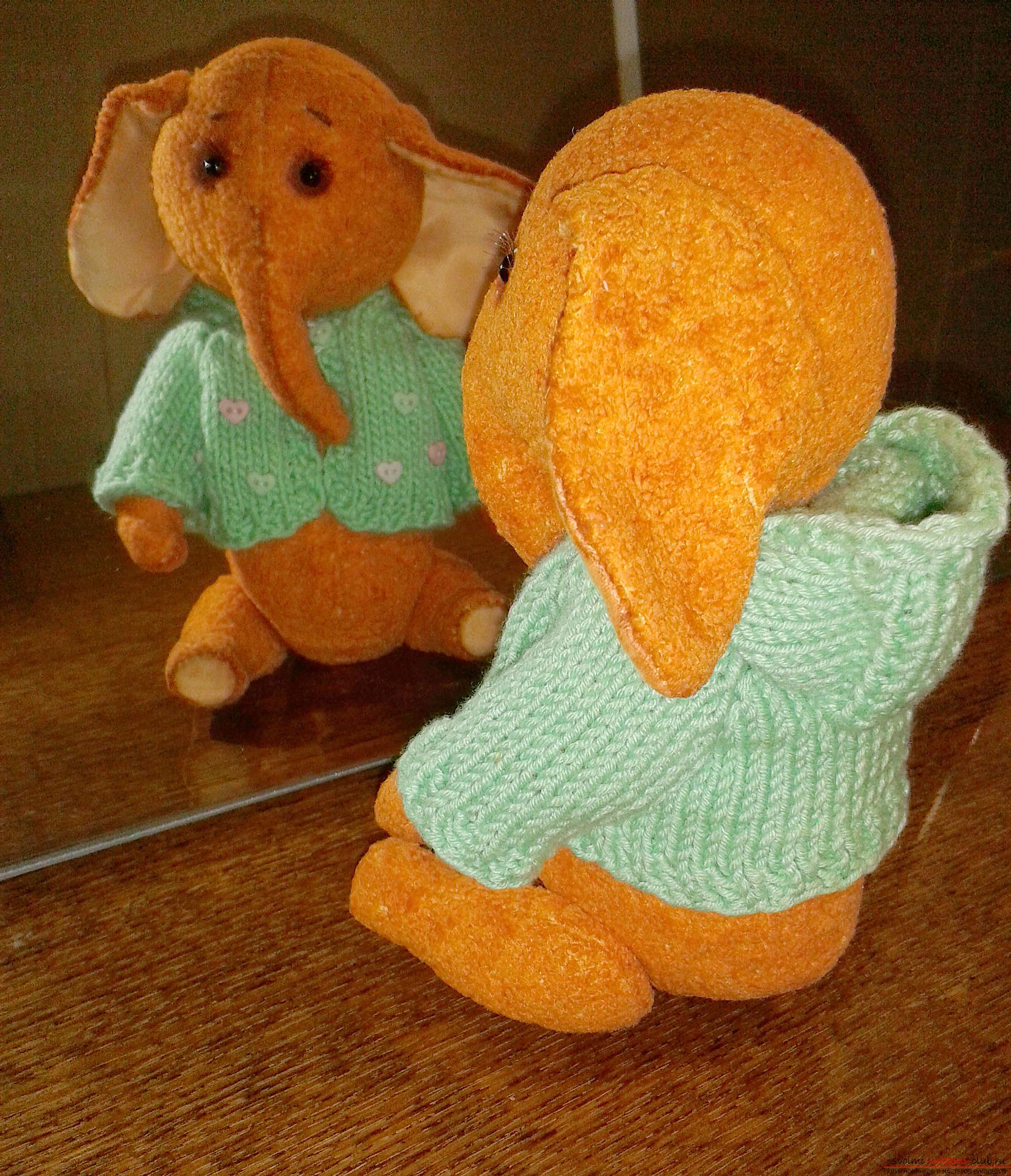 Игрушка Слоня-Соня. Фото №2