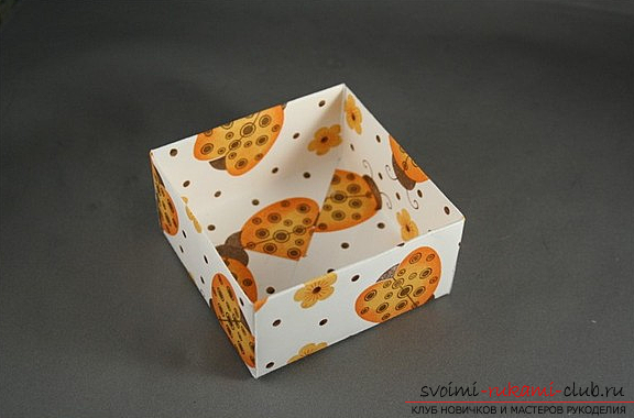 Коробка из бумаги. Фото №8