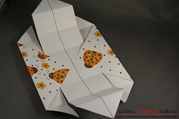 Коробка из бумаги. Фото №5