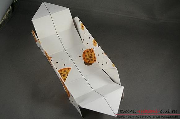 Коробка из бумаги. Фото №6