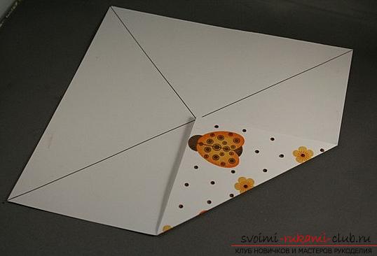Коробка из бумаги. Фото №2