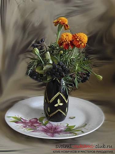 Осенние поделки из овощей и фруктов. Фото №4