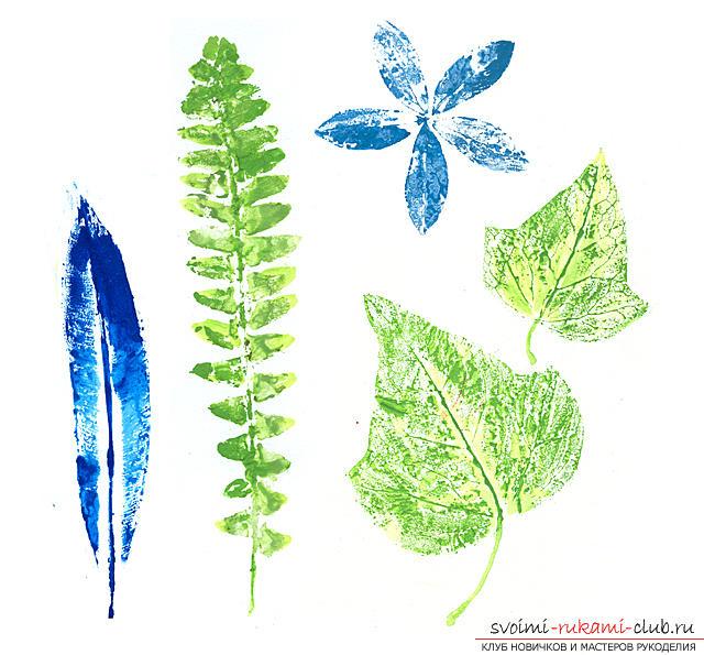 Основные методы рисования в нетрадиционном стиле. Фото №2