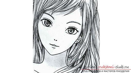 Аниме рисунки девуше фото 102-172