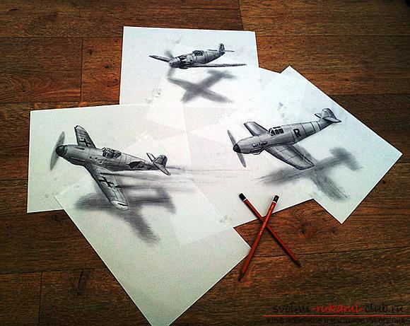 Урок рисования 3d изображения для начинающих. Фото №2