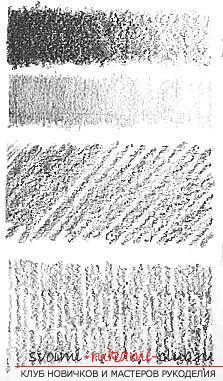 Изображение объектов в технике рисования карандашом. Фото №3