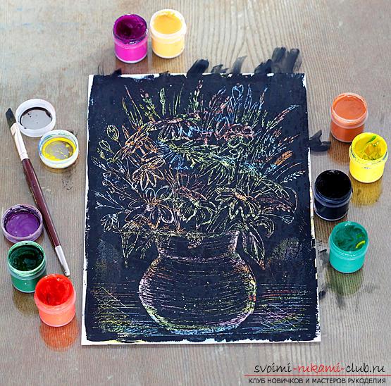 Основные методы рисования в нетрадиционном стиле. Фото №12
