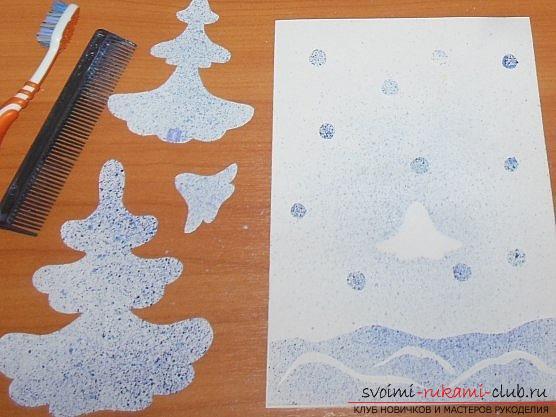Основные методы рисования в нетрадиционном стиле. Фото №7