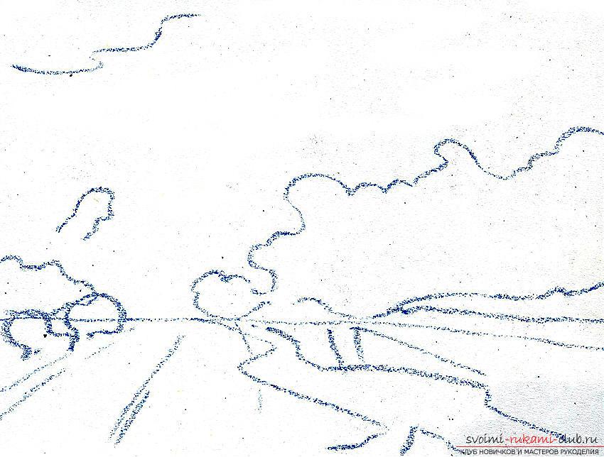 Рисование пейзажа масляной