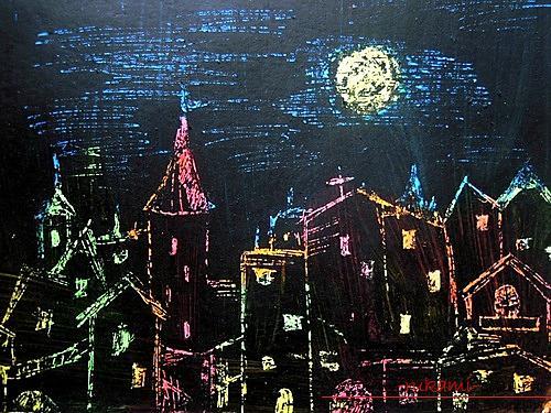 Мастер класс ночной город
