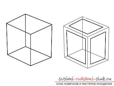 Урок рисования 3d изображения для начинающих. Фото №3
