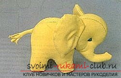 Как сделать слона своими руками фото
