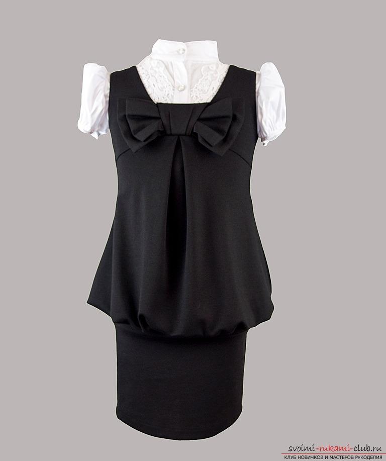 Сшить платье своими руками в школу