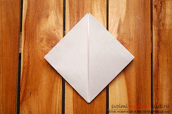 Объемный куб в технике оригами. Фото №6