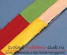 Пошить быстро и легко оригинальный коврик из лоскутков вам поможет материал данной статьи