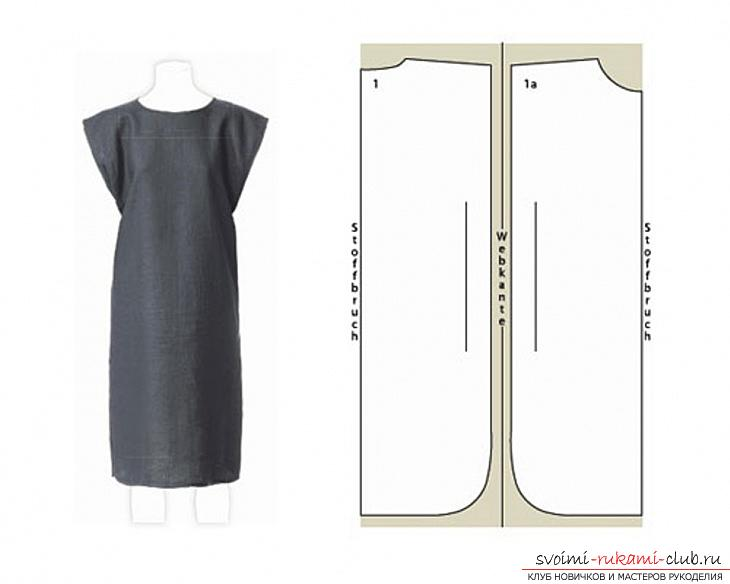 Как сшить простое платье своими руками выкройки фото