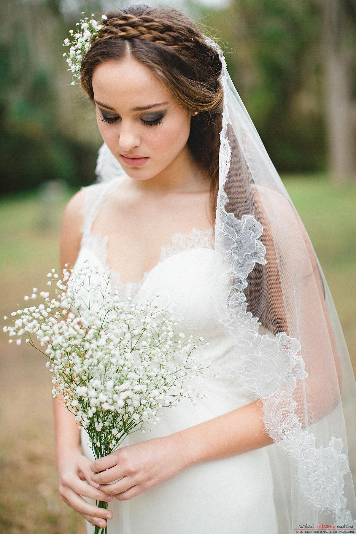 Самые красивые свадебные прически : фото свадебных причесок 17