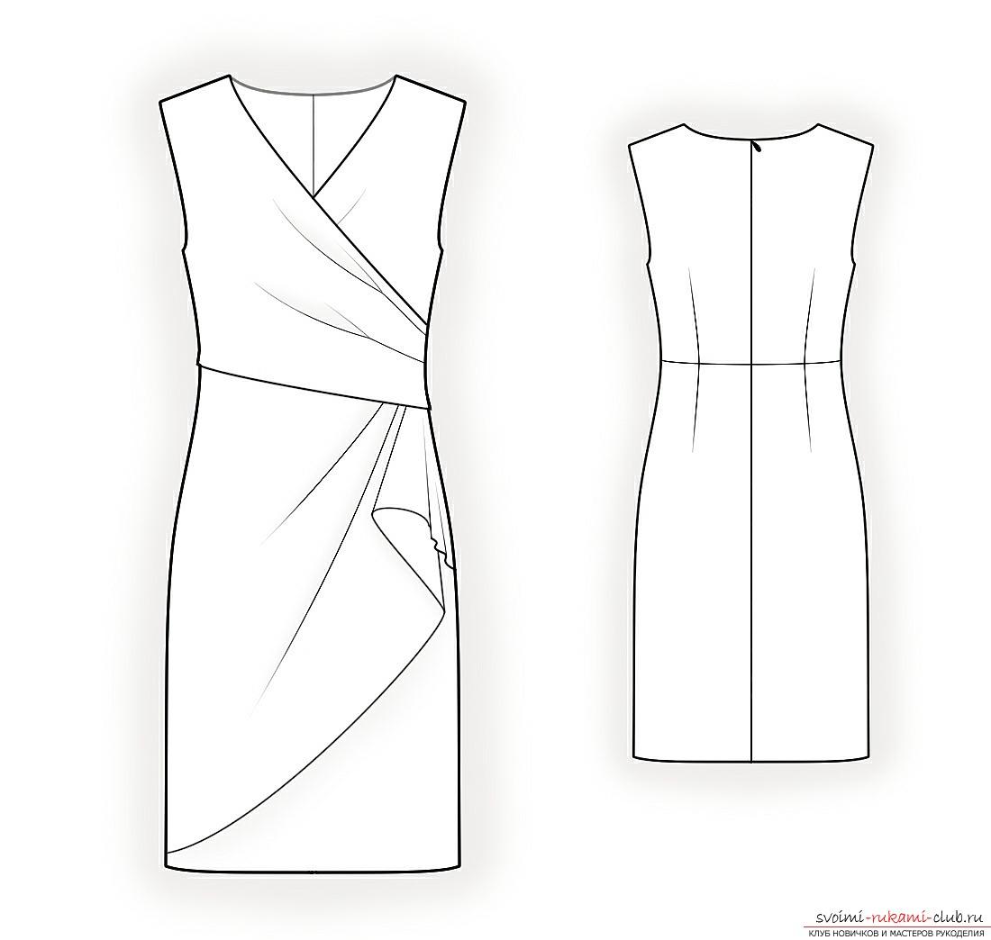 Научитесь правильно делать простые и сложные выкройки шикарных платьев для полных