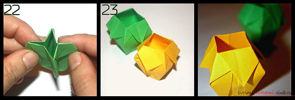 Изготовление оригами простой
