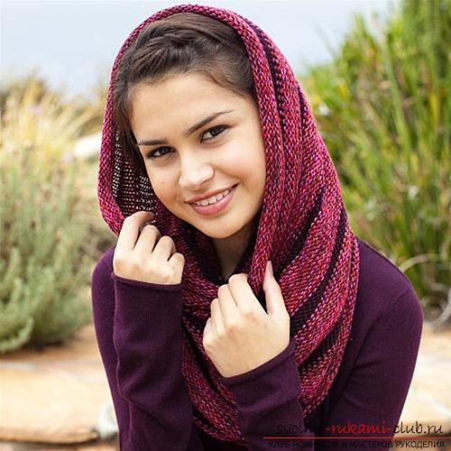 Этот шарф вы сможете носить не