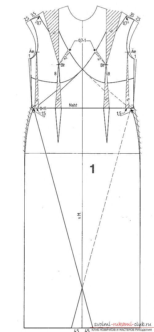 Схемы для вязания спинки спицами 133