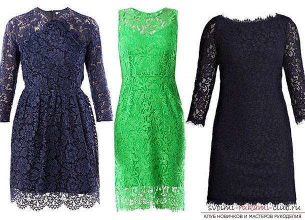 выкройки платьев, модных в 2015