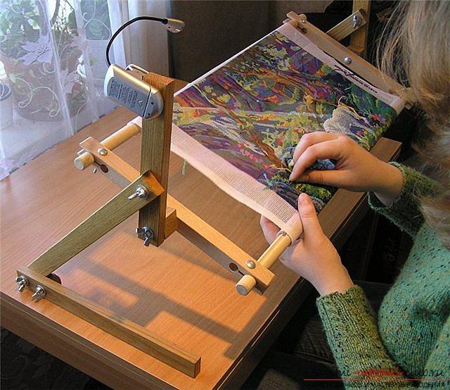 Как сделать станок для вышивки крестом