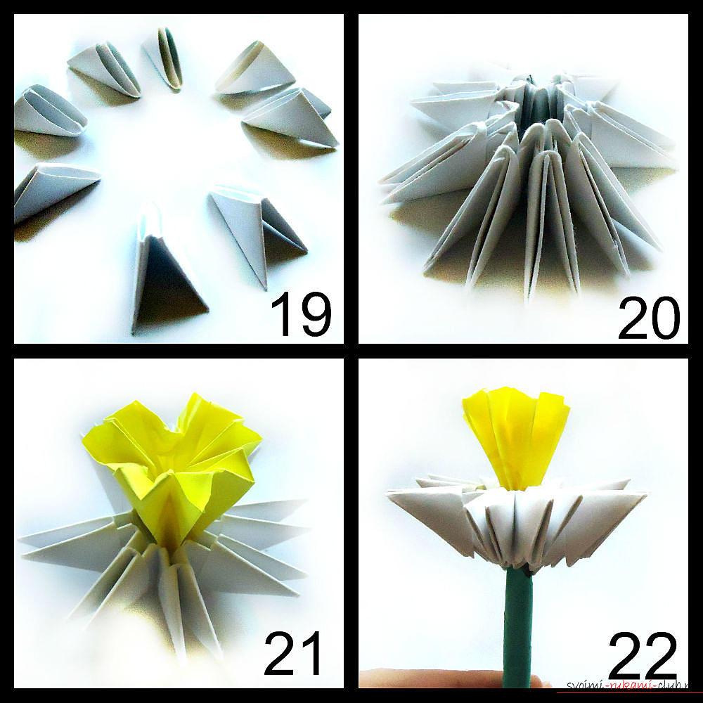 с цветов оригами модульное схема