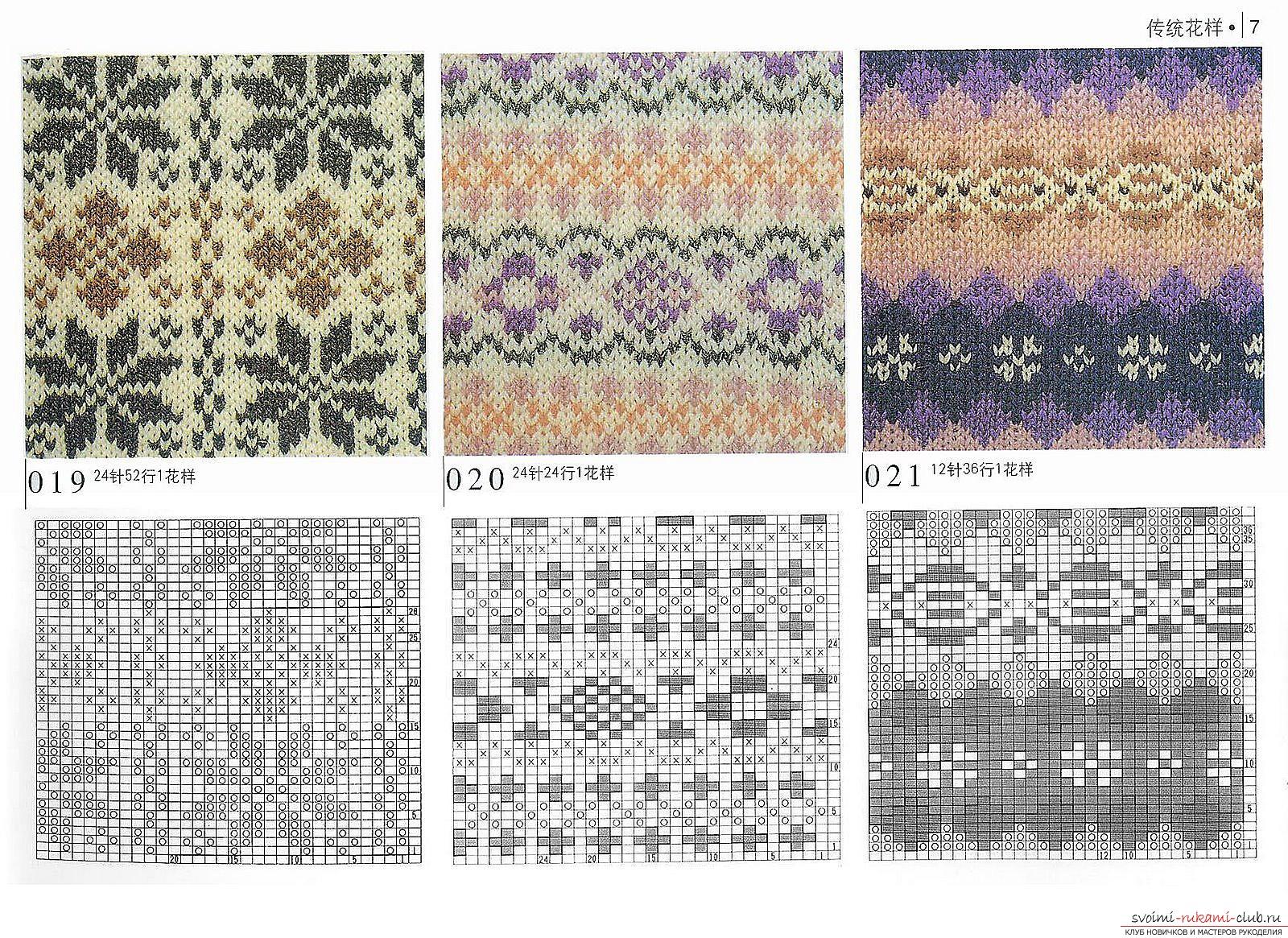 Вязание орнаментов спицами 93